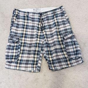 Mens Nautica Size 34 checks summer shorts
